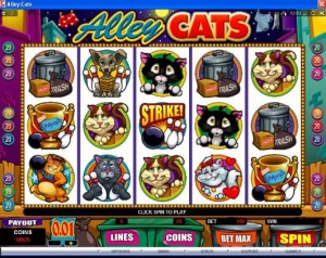 alley cats spiele